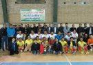 مسابقات فوتسال بسیجیان پالایشگاه گاز ایلام برگزار شد
