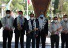تجدید میثاق کارکنان شرکت گاز استان ایلام  با شهدای گمنام