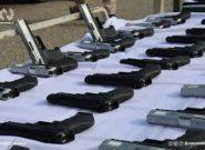 محموله سلاح های ویژه تروریستی در غرب کشور کشف شد